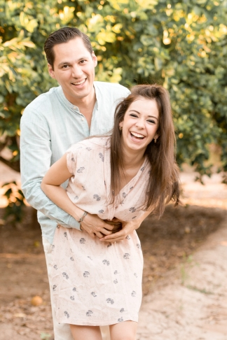 Laura & Abraham's Orange Grove Sweetheart Session