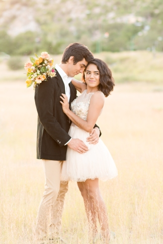 Roxana & Fernando's Downtown/Desert Sweetheart Session