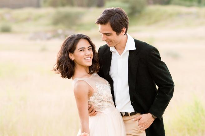 Roxana & Fernando's Downtown/Desert Sweetheart Session