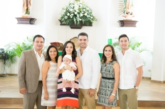 Andrés' Woodland Baptism photographed by SA | Sue-Ellen Aguirre Photography