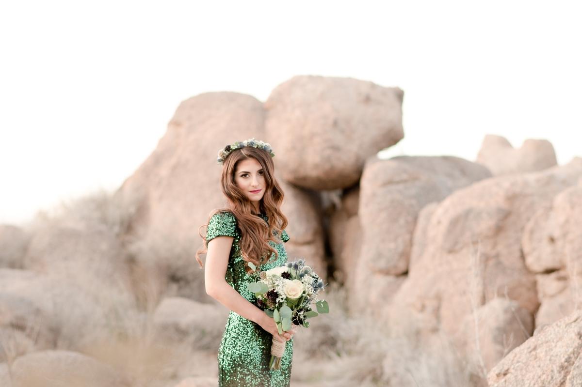 Glamorous Bridesmaid Inspiration