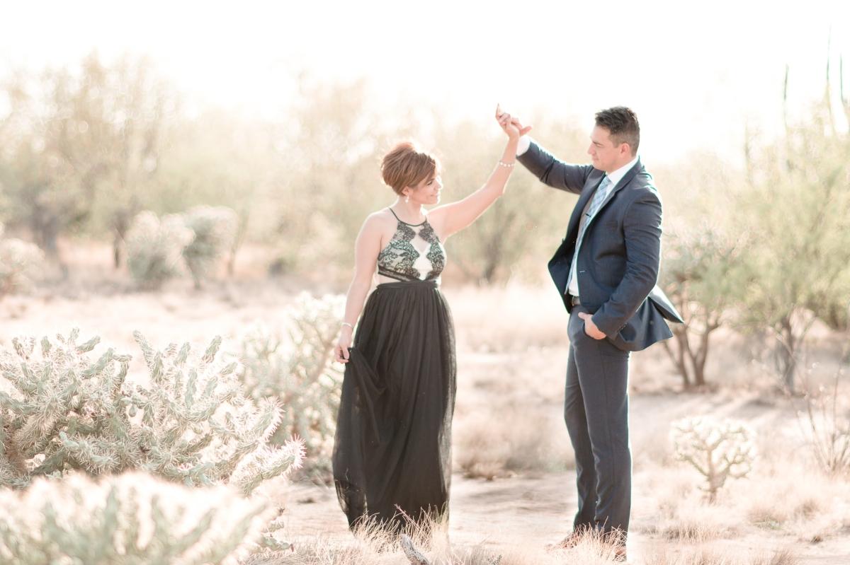 Lorena & Luis' Dreamy Desert Anniversary Session