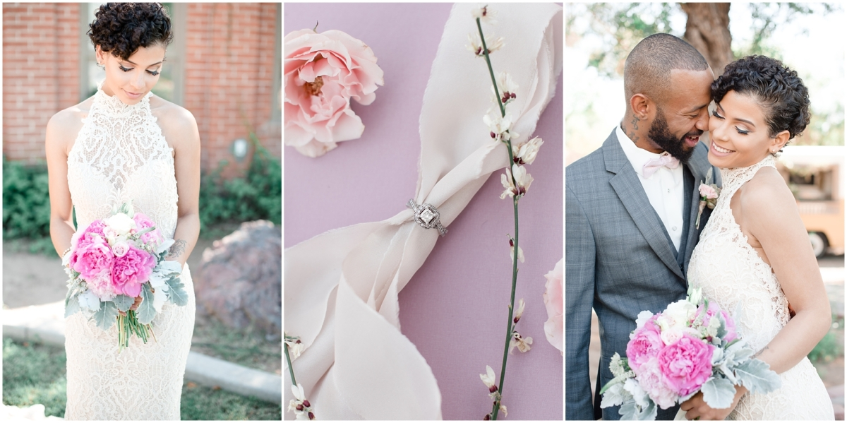 Romantic Urban Spring Wedding Inspiration • Phoenix, Arizona