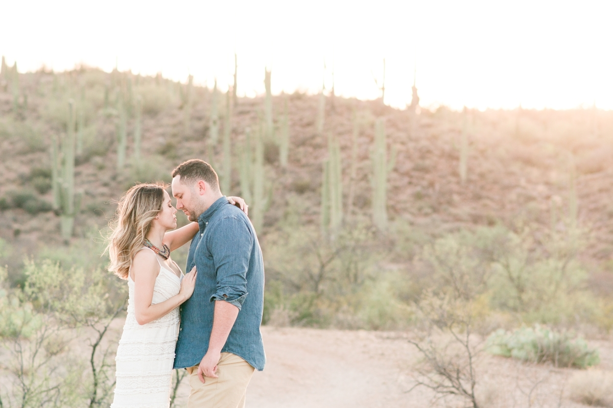 Sayleen & Gary's Old Pueblo Desert Engagement Session● Tucson, Arizona