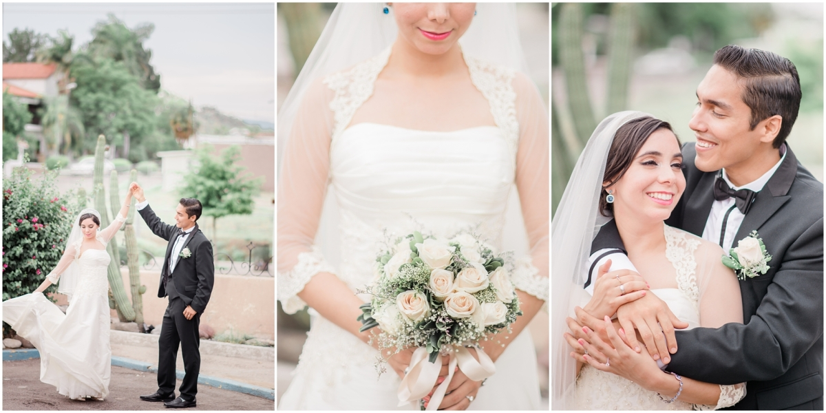 Monica & Daniel's Intimate Summer Wedding