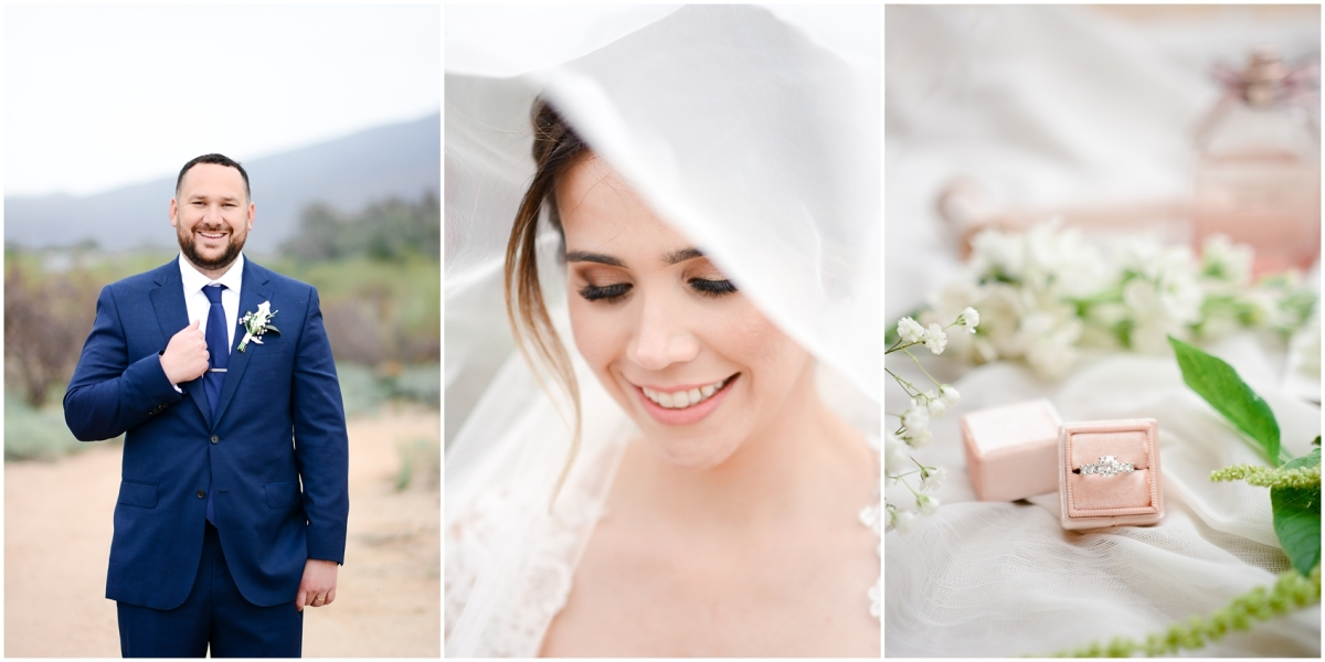 Sayleen & Gary's Intimate Desert Wedding