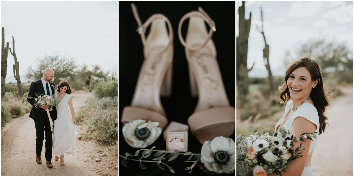 Kate & Mike's Fall Desert Wedding