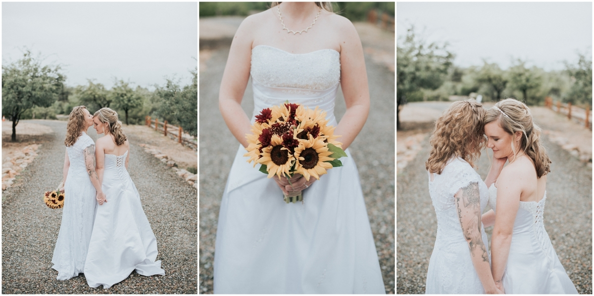 Lindsay & Nicki's Intimate Country Wedding • Tucson, AZ