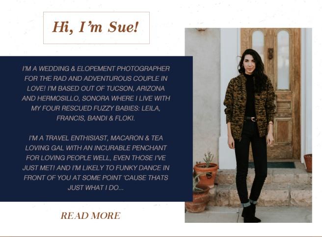 Hi, I'm Sue!